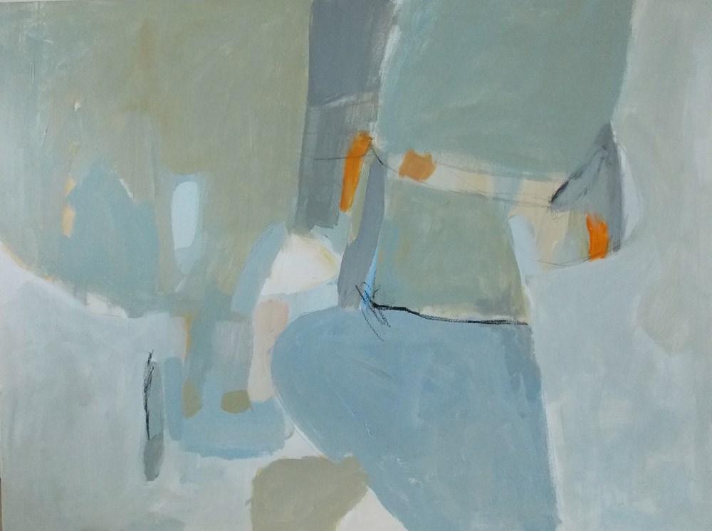 """""""Courtyard"""" original fine art by Pamela Munger"""