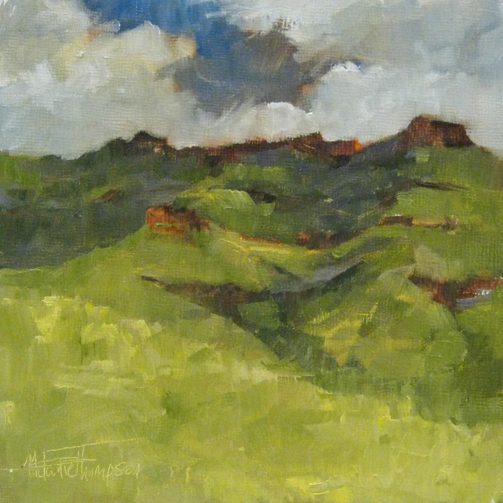 """""""Wild Horse Butte"""" original fine art by Melanie Thompson"""