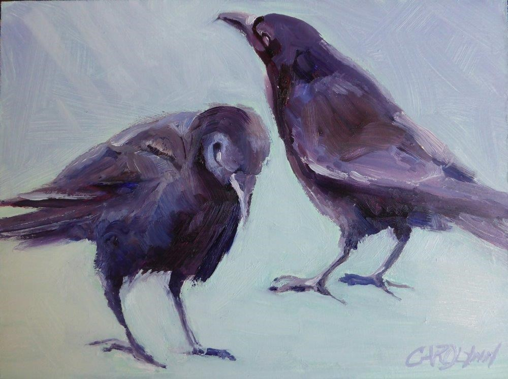 """""""Mates For Life II"""" original fine art by Carolynn Doan"""