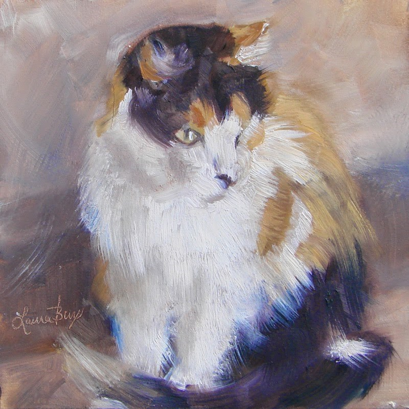 """Poser 228"" original fine art by Laura  Buxo"