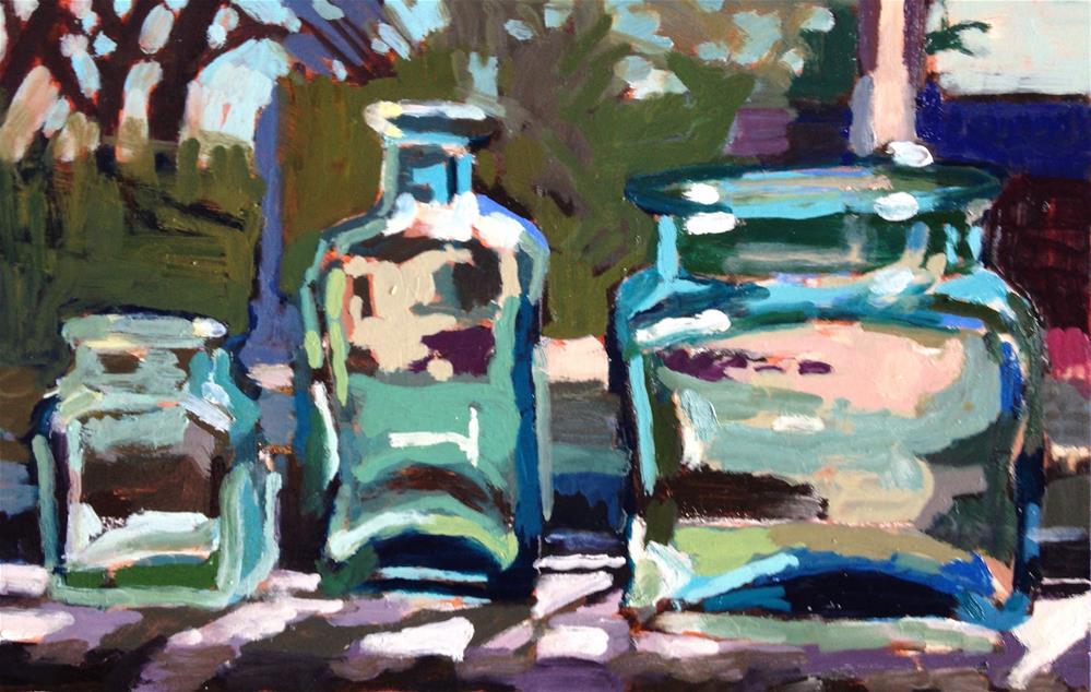 """""""Bathing Beauties"""" original fine art by Pamela Hoffmeister"""