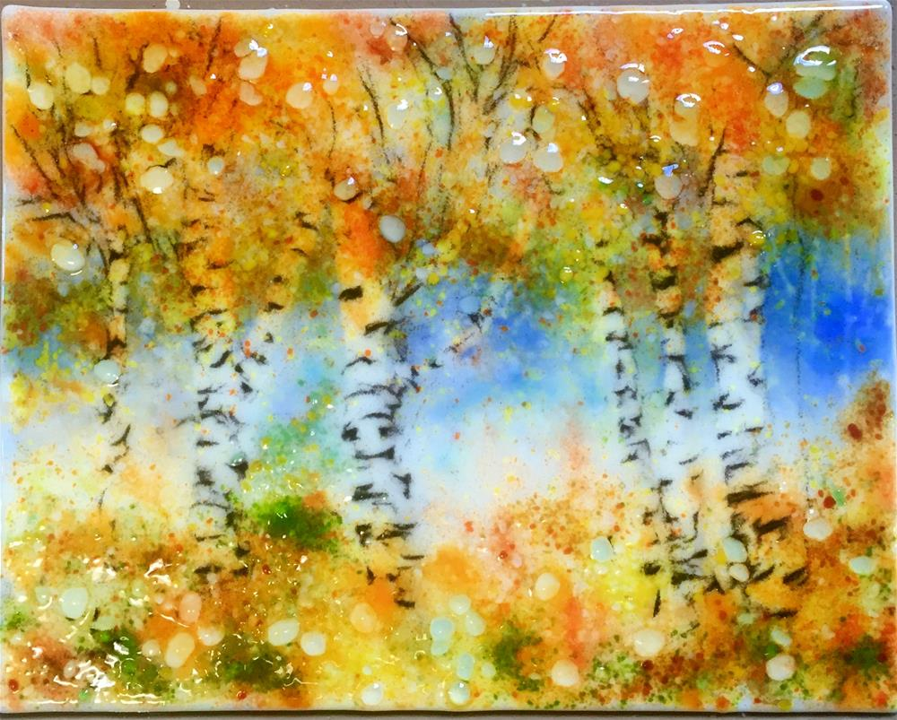 """Fall Arrival"" original fine art by Kristen Dukat"