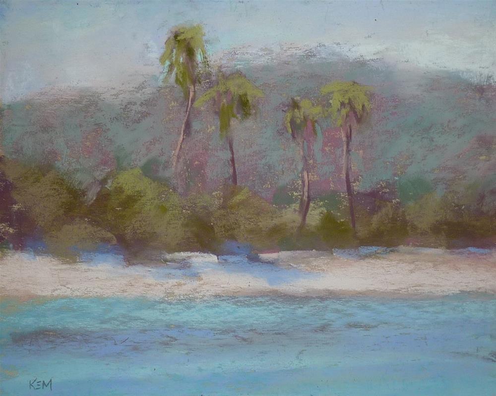 """Caribbean Sunshine"" original fine art by Karen Margulis"