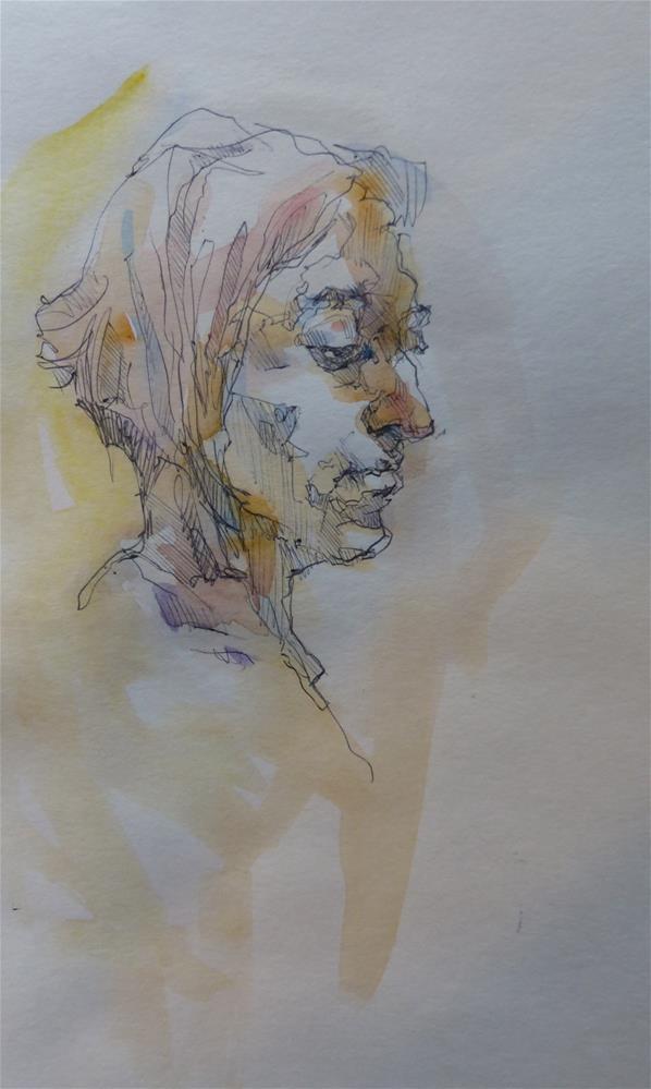 """sketchbook107"" original fine art by Katya Minkina"