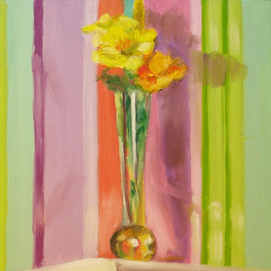 """""""Volunteers"""" original fine art by Linda Lowery"""