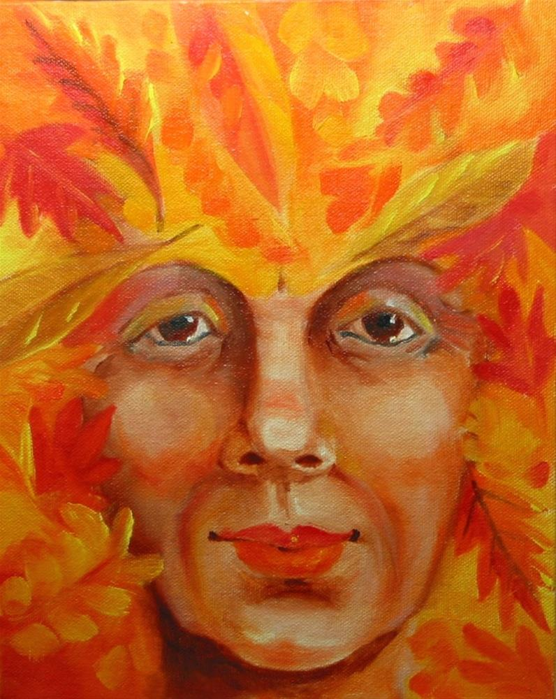 """""""Fall"""" original fine art by Patricia Murray"""