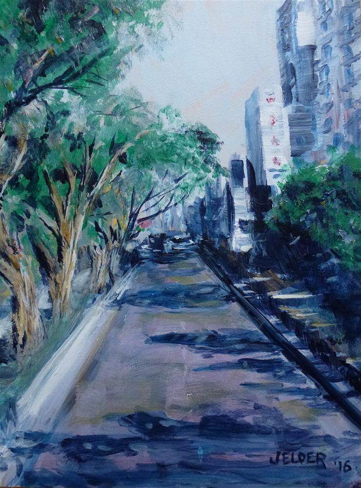 """A Quiet Morning"" original fine art by Judith Elder"