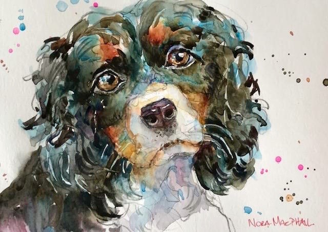 """companion"" original fine art by Nora MacPhail"