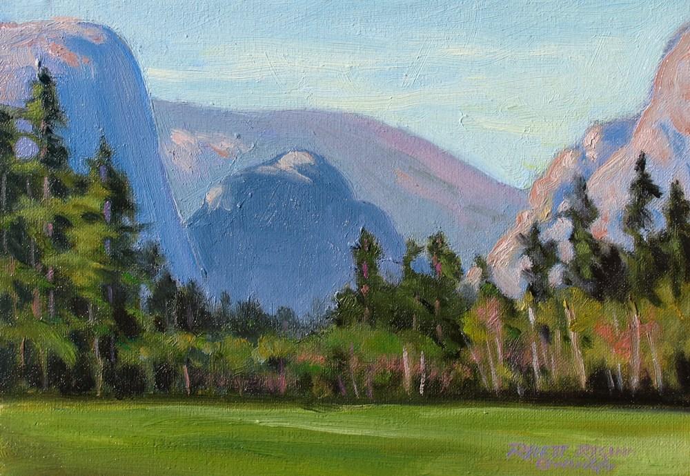 """""""Morning Glow"""" original fine art by Rhett Regina Owings"""