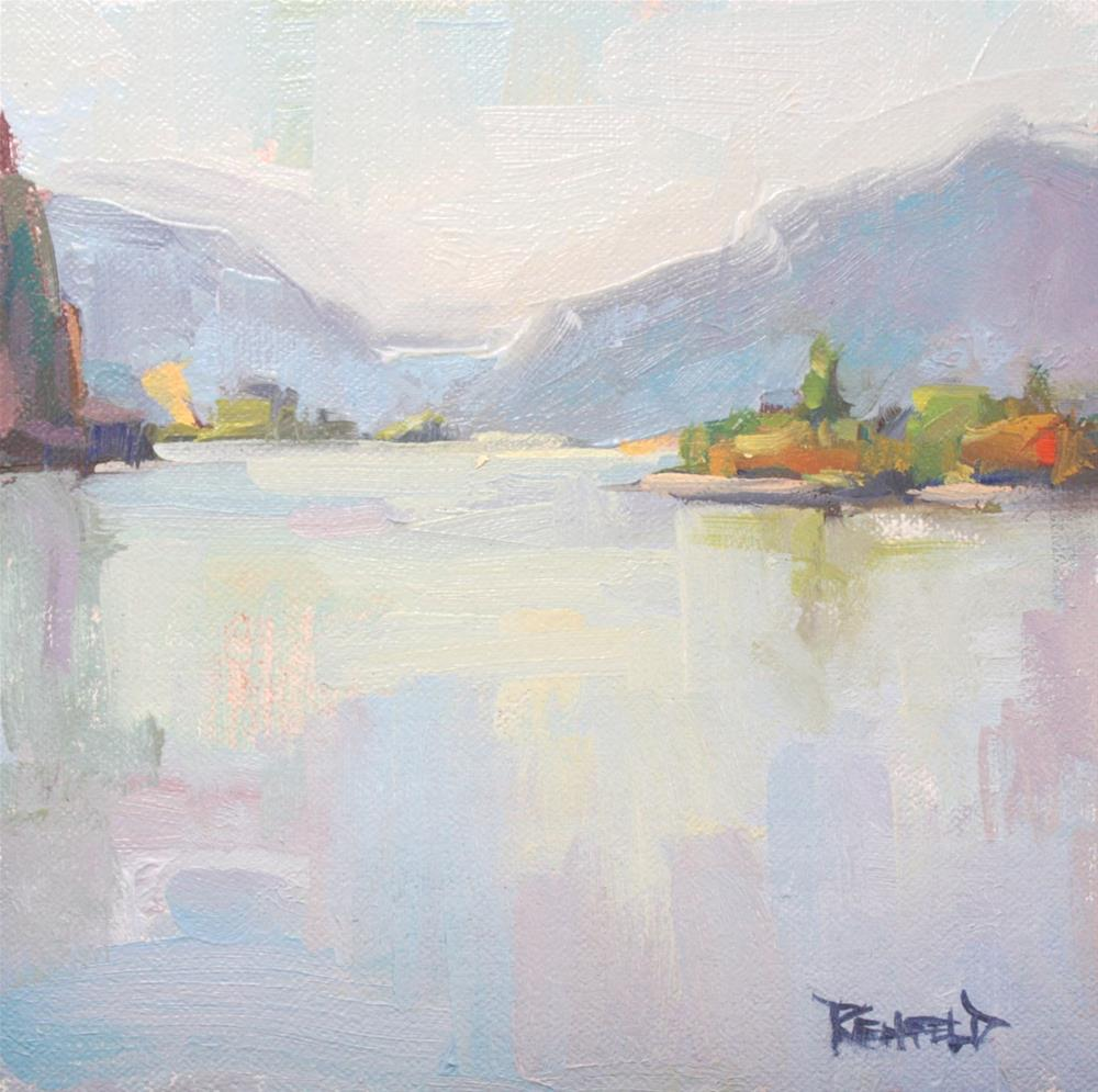 """Gorge Reflections"" original fine art by Cathleen Rehfeld"
