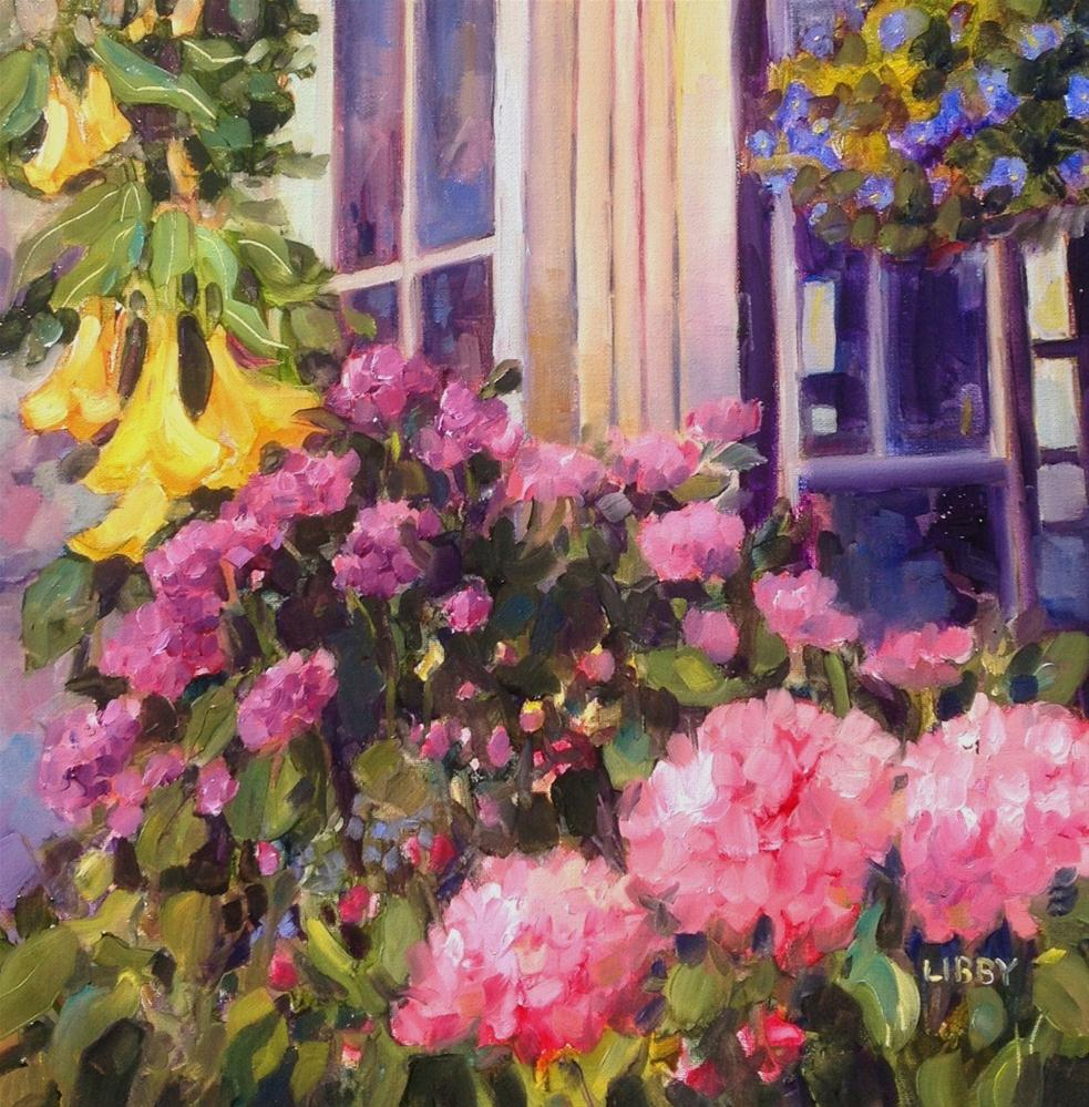 """""""conservatory"""" original fine art by Libby Anderson"""