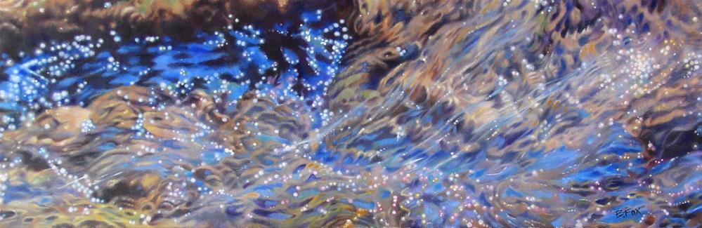 """Journey (SOLD)"" original fine art by Barbara Fox"
