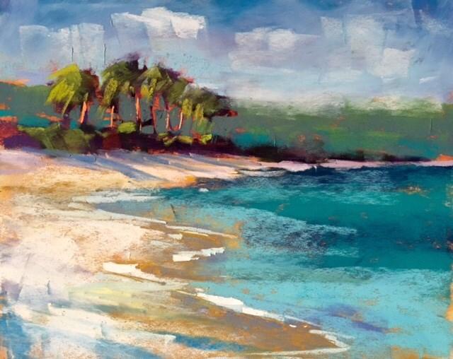 """Art Cruise 2016 Report from the Caribbean"" original fine art by Karen Margulis"