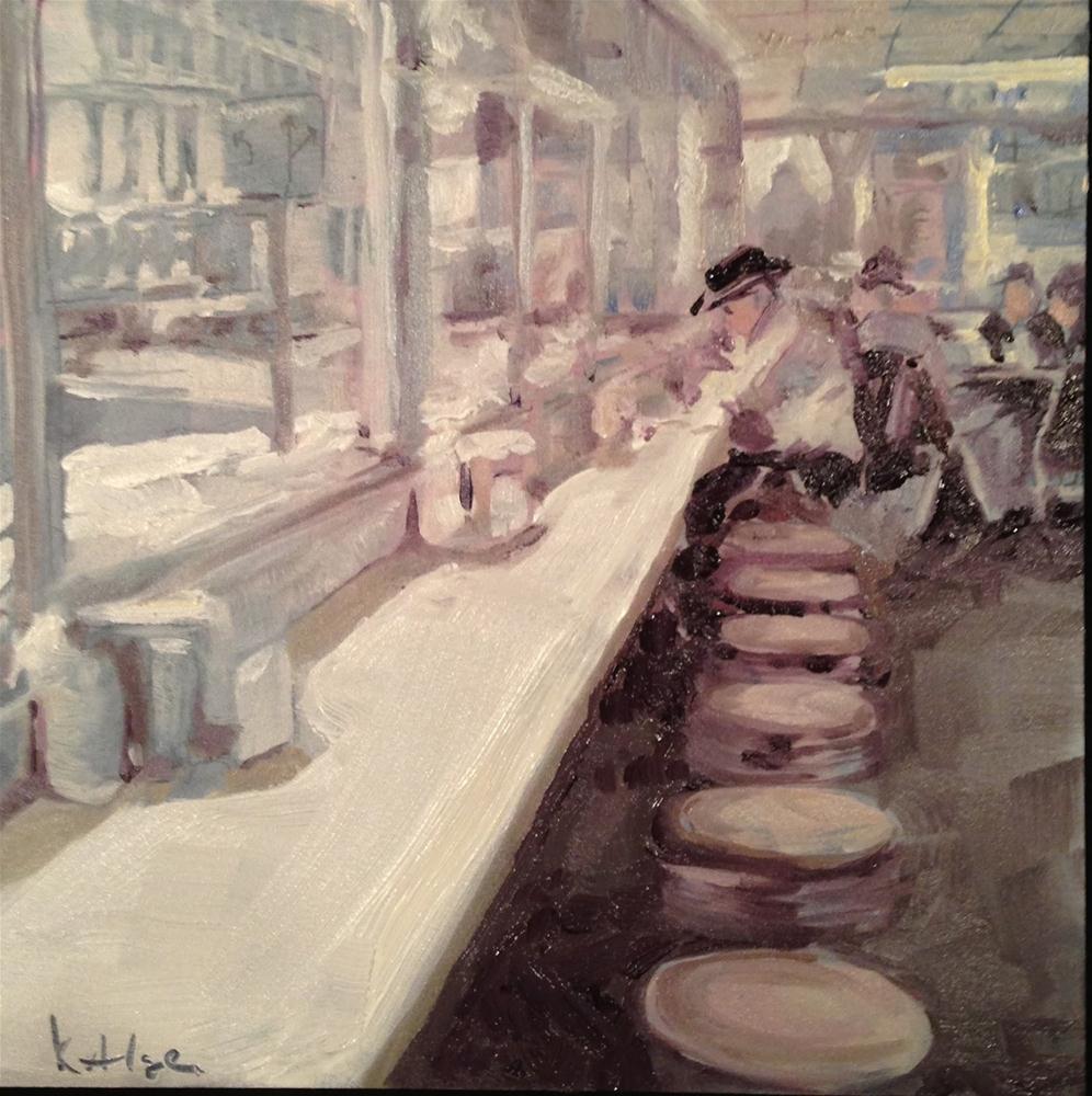 """Wilson's Restaurant in Findlay, OH"" original fine art by Kelly Alge"
