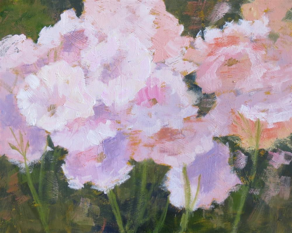 """Pink Champagne"" original fine art by Pam Holnback"