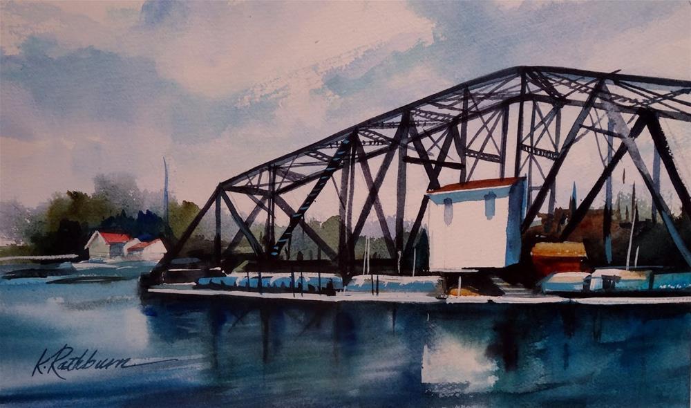 """Insights on Industry XIV"" original fine art by Kathy Los-Rathburn"