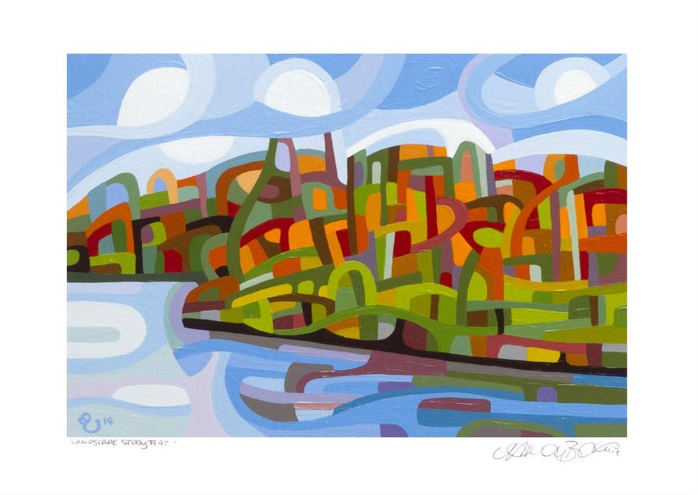 """Landscape Study #47"" original fine art by Mandy Budan"