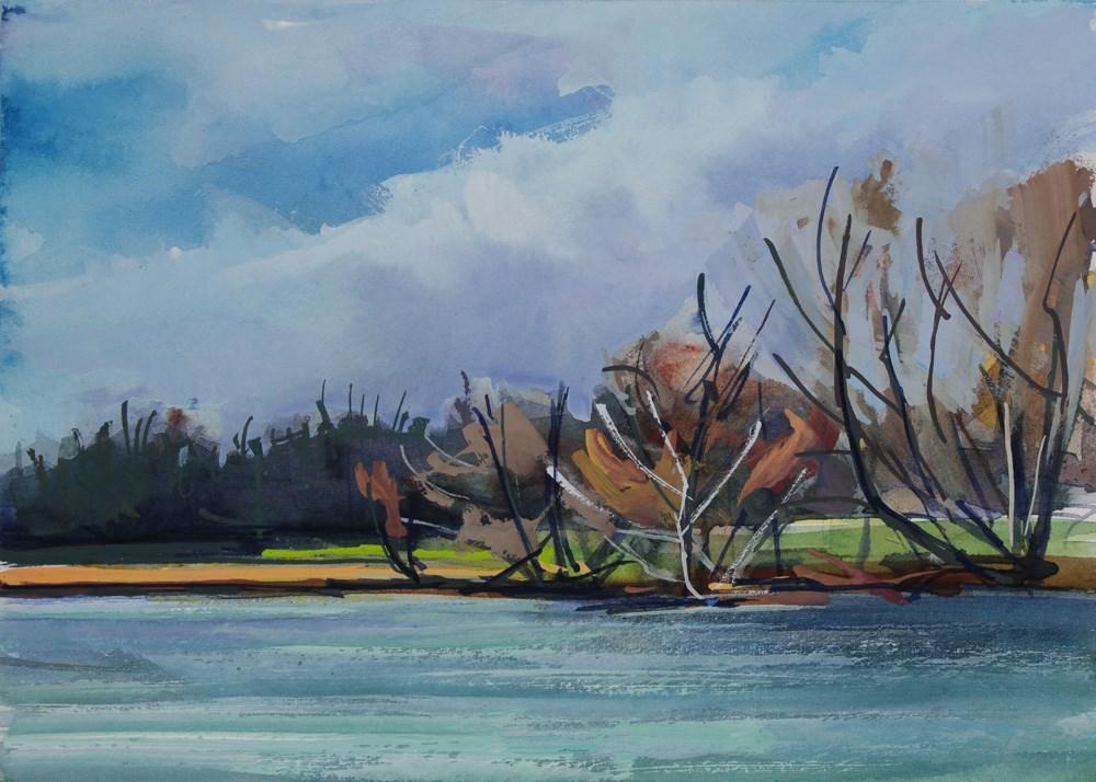 """Olmstead Vista"" original fine art by Chris Breier"
