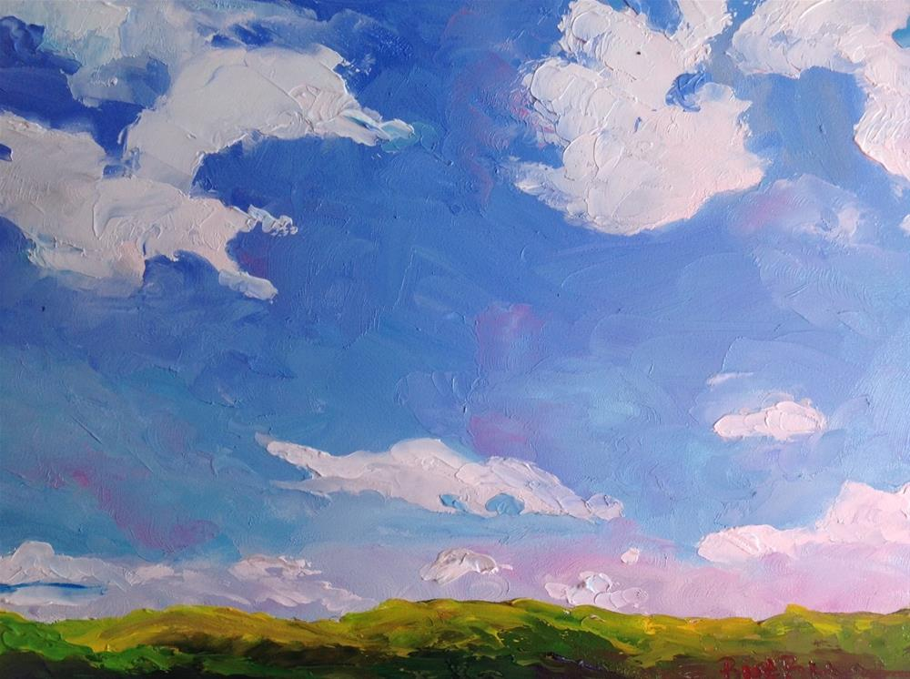 """""""A Bright Sunny Day"""" original fine art by Rose Brenner"""