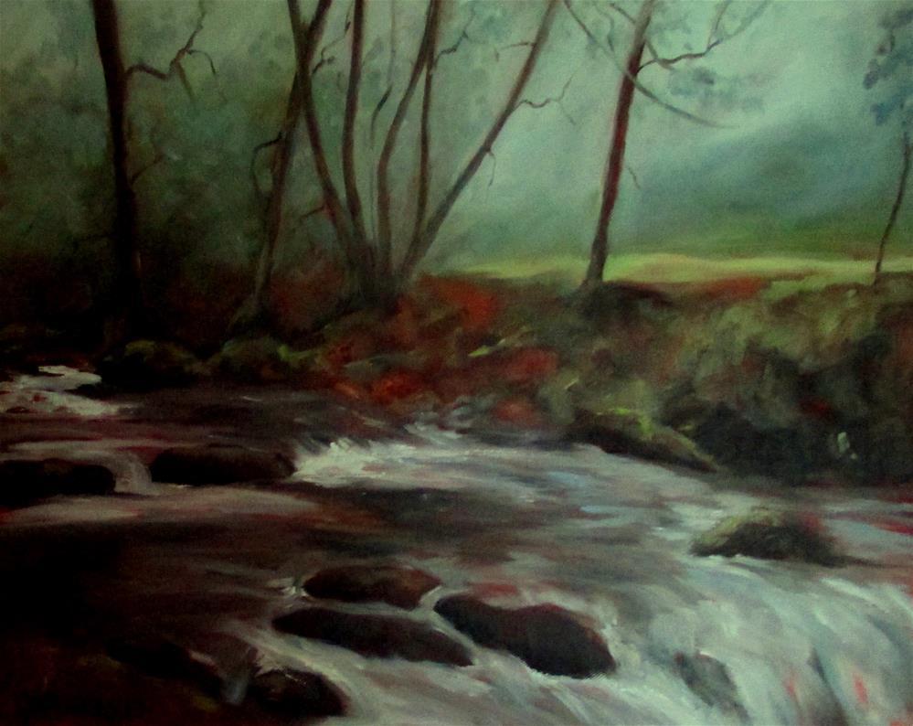 """20 x 16 inch oil"" original fine art by Linda Yurgensen"