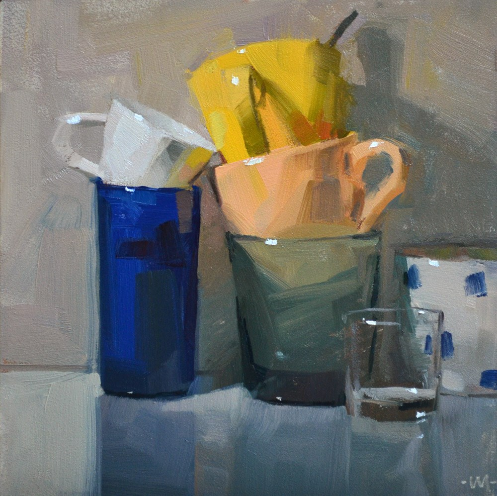 """Cup Love"" original fine art by Carol Marine"