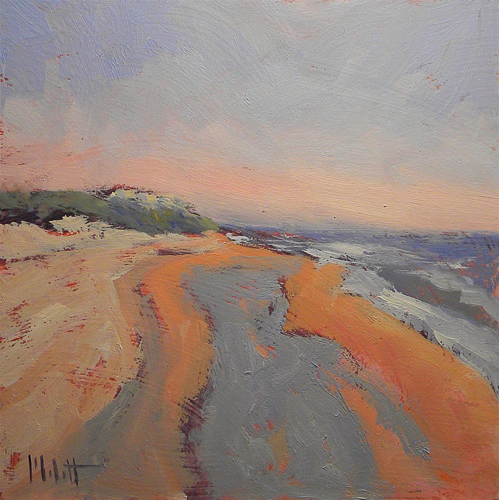 """Ormond Beach Florida Spring Vacation Series"" original fine art by Heidi Malott"