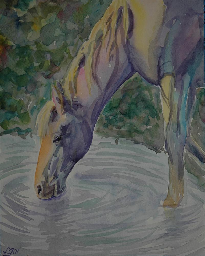 """Paint Pony #51"" original fine art by Lyn Gill"