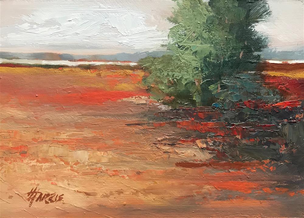 """Land Escape Series No.8"" original fine art by Helen Harris"