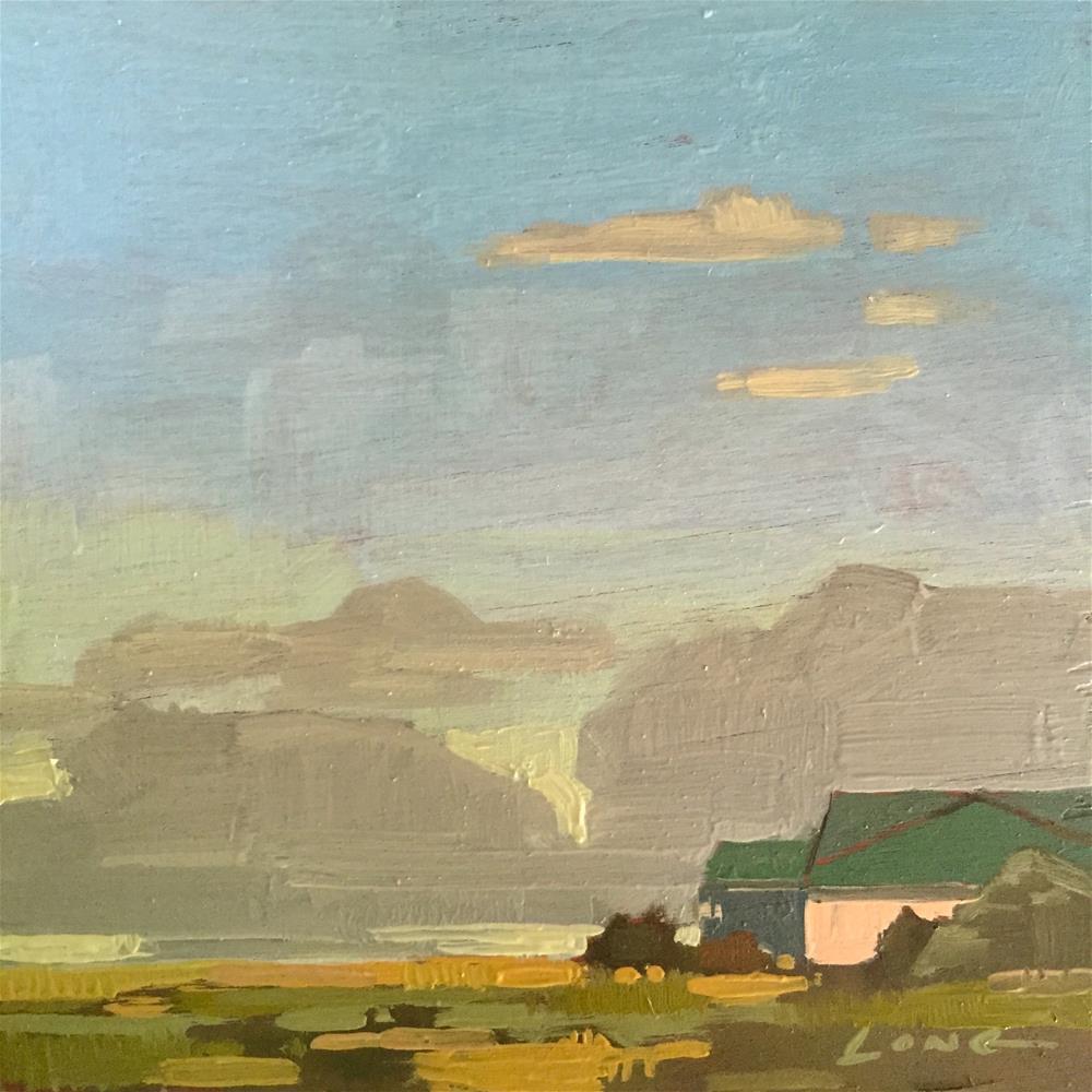 """""""Cloud Composition #2"""" original fine art by Chris Long"""
