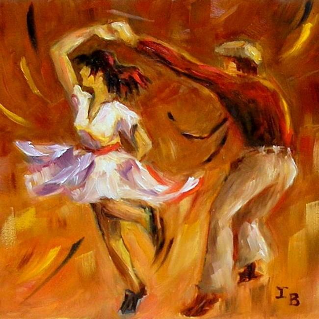 """Swing!"" original fine art by Irina Beskina"