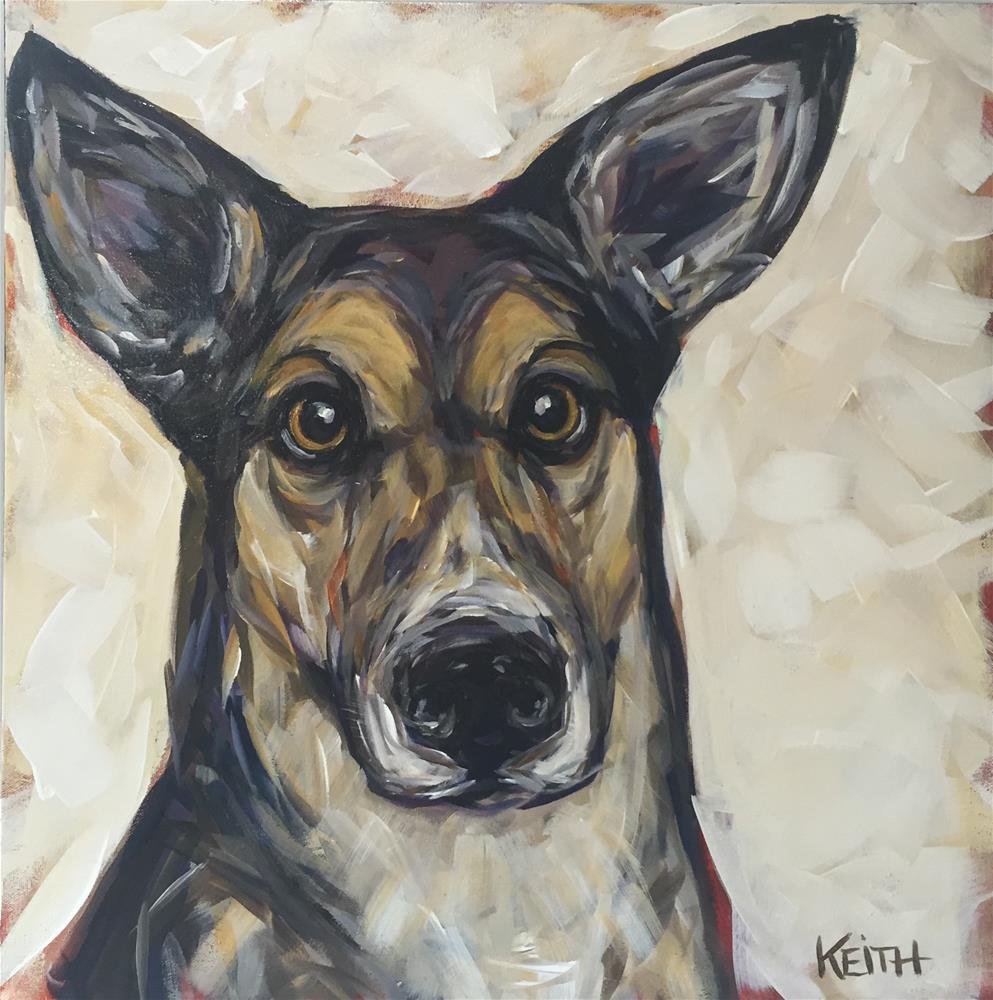 """Fern"" original fine art by Kandice Keith"