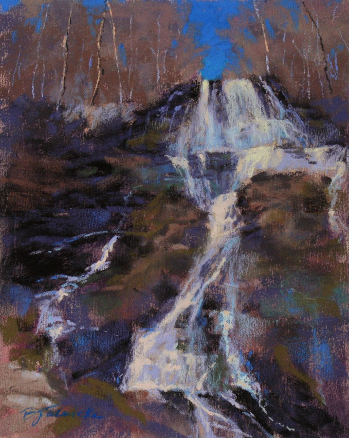 """From the Top"" original fine art by Barbara Jaenicke"