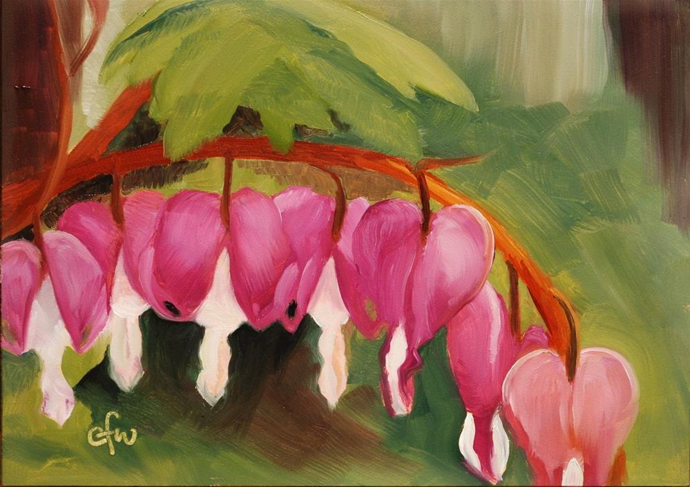 """Bleeding Heart"" original fine art by Gary Westlake"