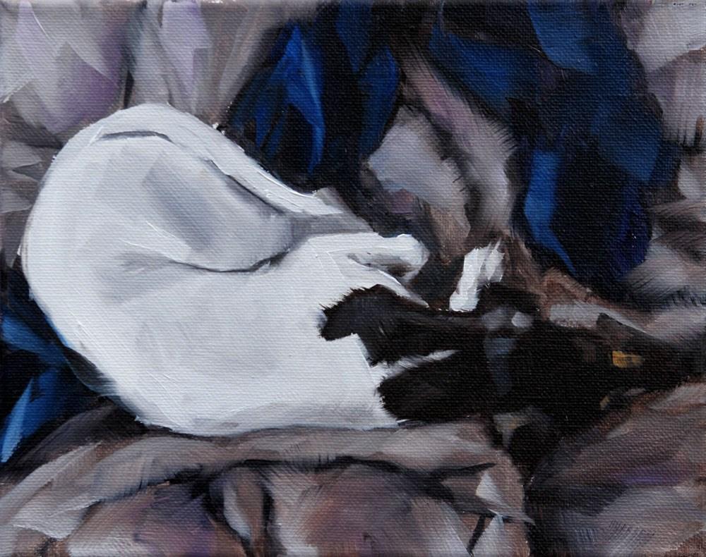 """The Daily Dog - Nineteen"" original fine art by Clair Hartmann"