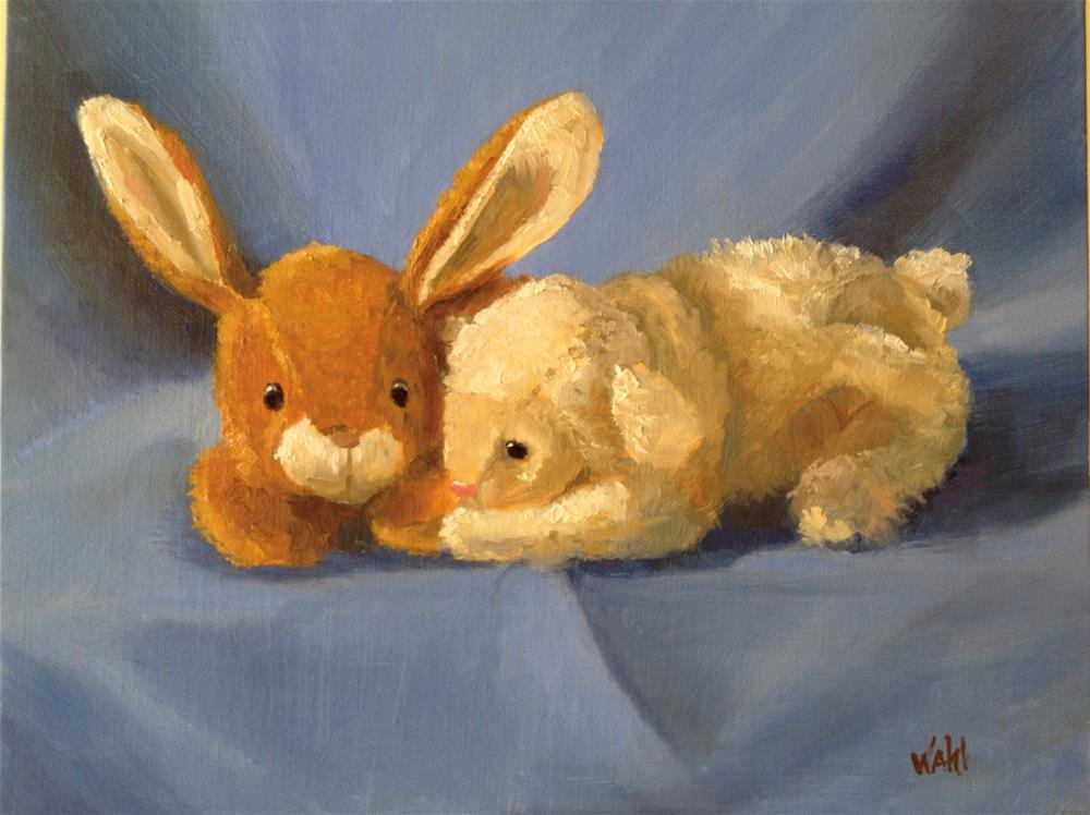 """Baby Buddies"" original fine art by Nancy Wahl"