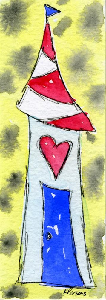 """""""Love in our House"""" original fine art by Kali Parsons"""