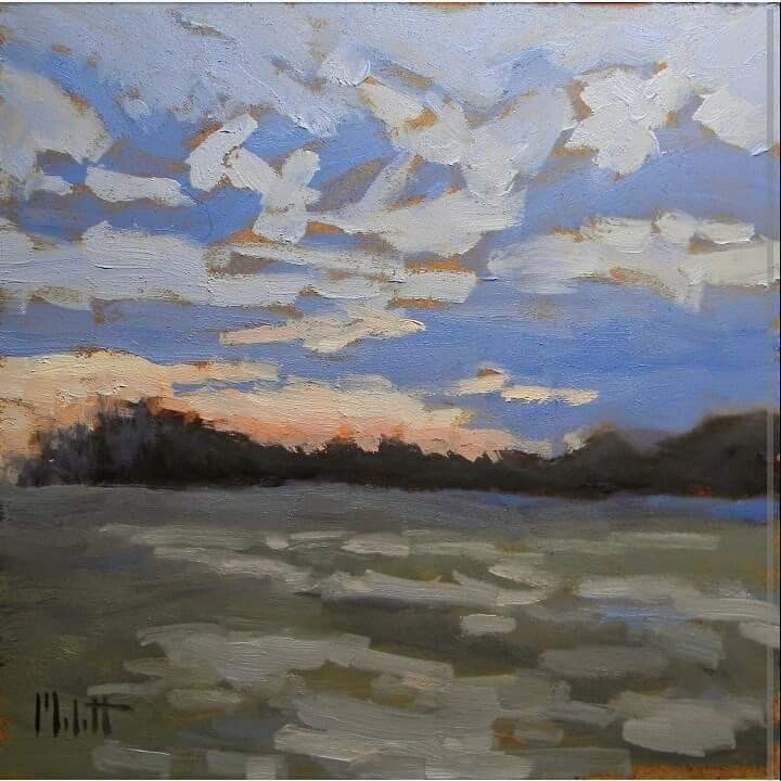 """Contemporary Impressionism Original Daily Oil Painting"" original fine art by Heidi Malott"