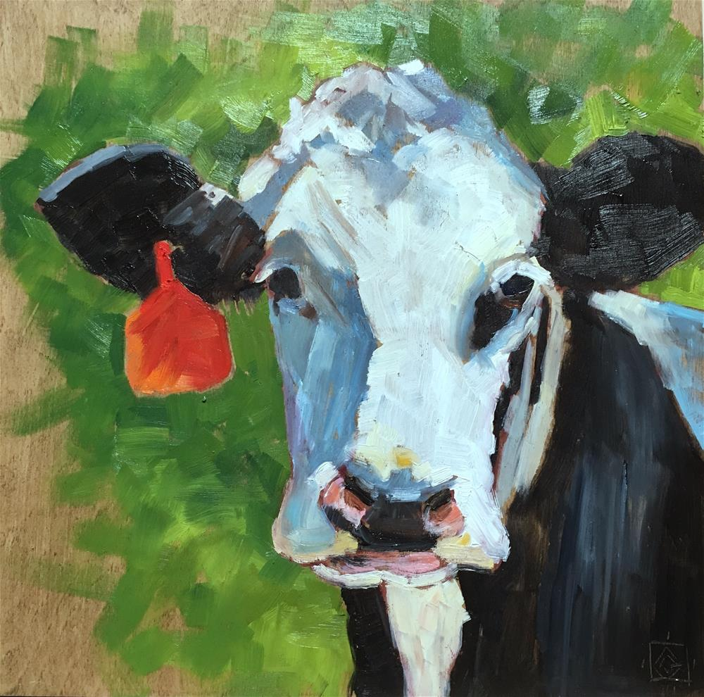 """Her Favorite Earring"" original fine art by Carol Granger"