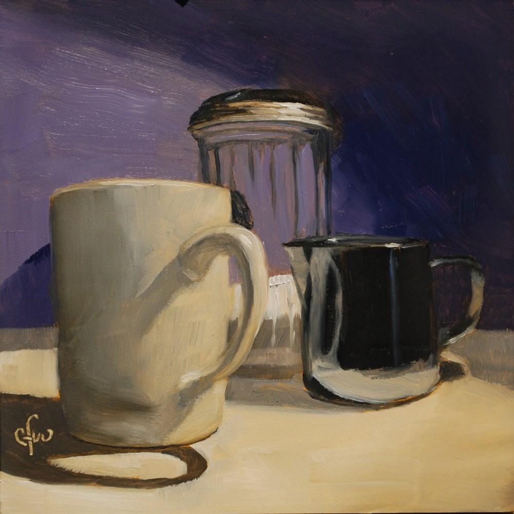 """Coffee with Cream and Sugar"" original fine art by Gary Westlake"