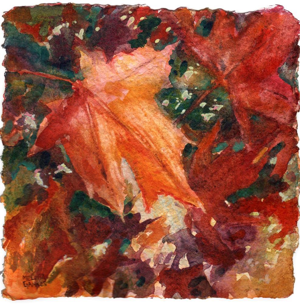 """Wind in the Maples"" original fine art by Melissa Gannon"