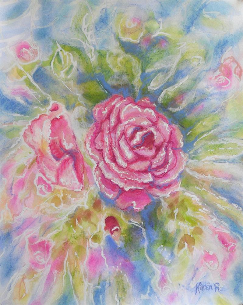 """Color Defined"" original fine art by Karen Roncari"