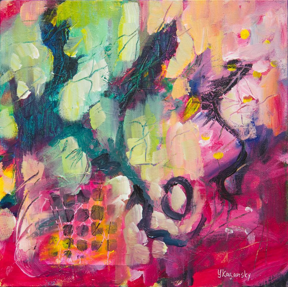 """Spring Mood"" original fine art by Yulia Kazansky"