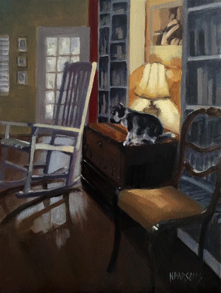 """Sacred Spaces (framed)"" original fine art by Nancy Parsons"