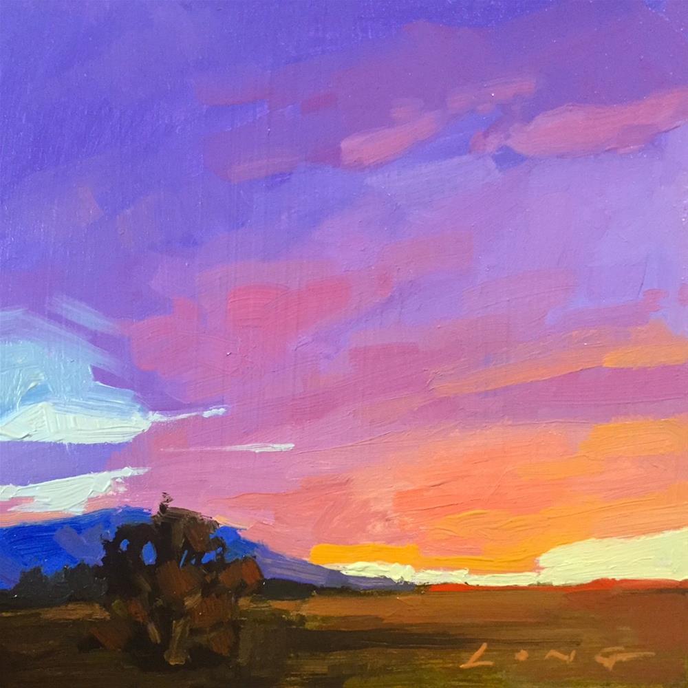 """""""Montana"""" original fine art by Chris Long"""