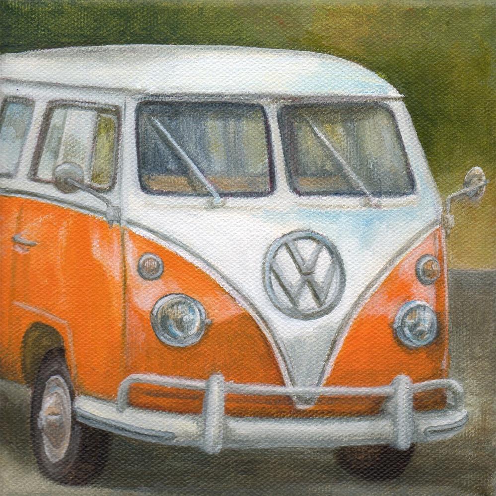 """On the Road"" original fine art by Debbie Shirley"