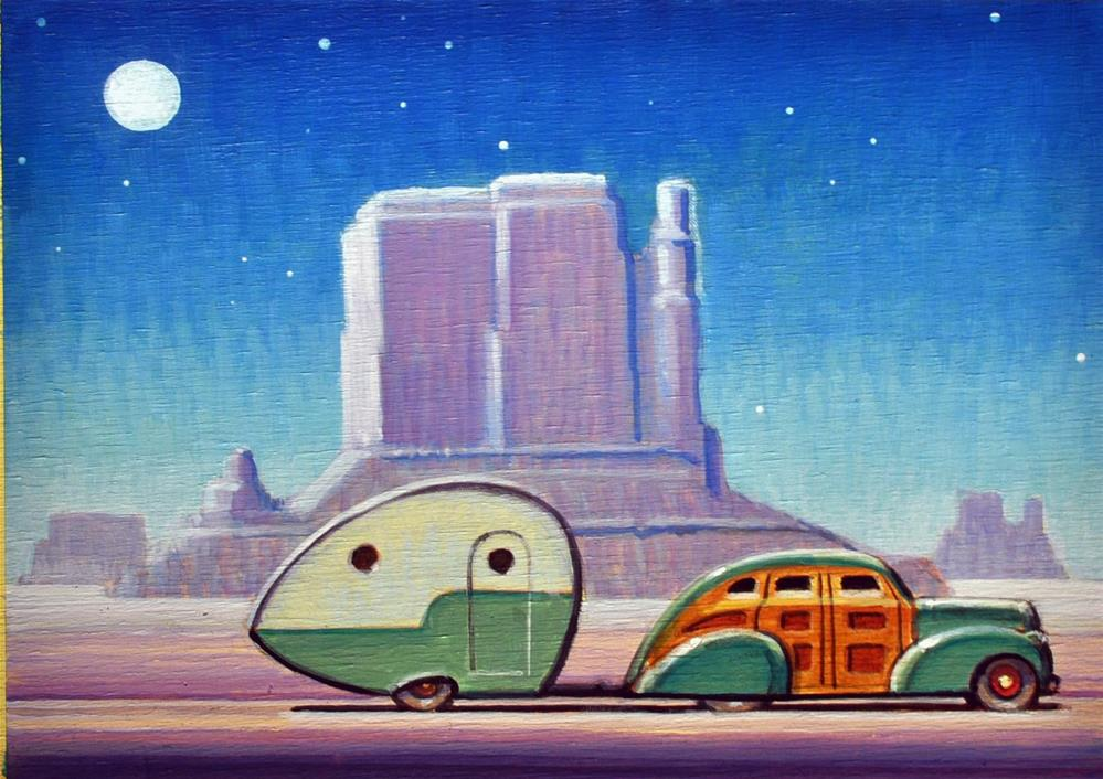 """Teardrop"" original fine art by Robert LaDuke"