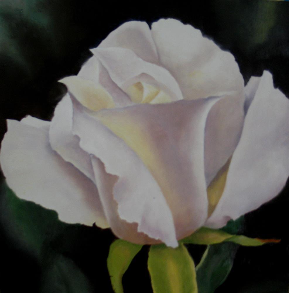 """June Rose"" original fine art by Nel Jansen"