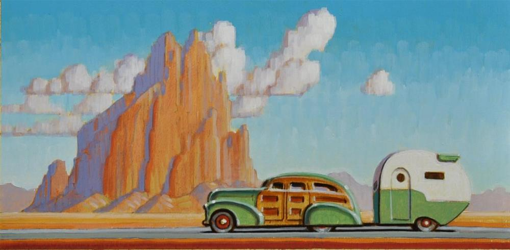 """New West"" original fine art by Robert LaDuke"