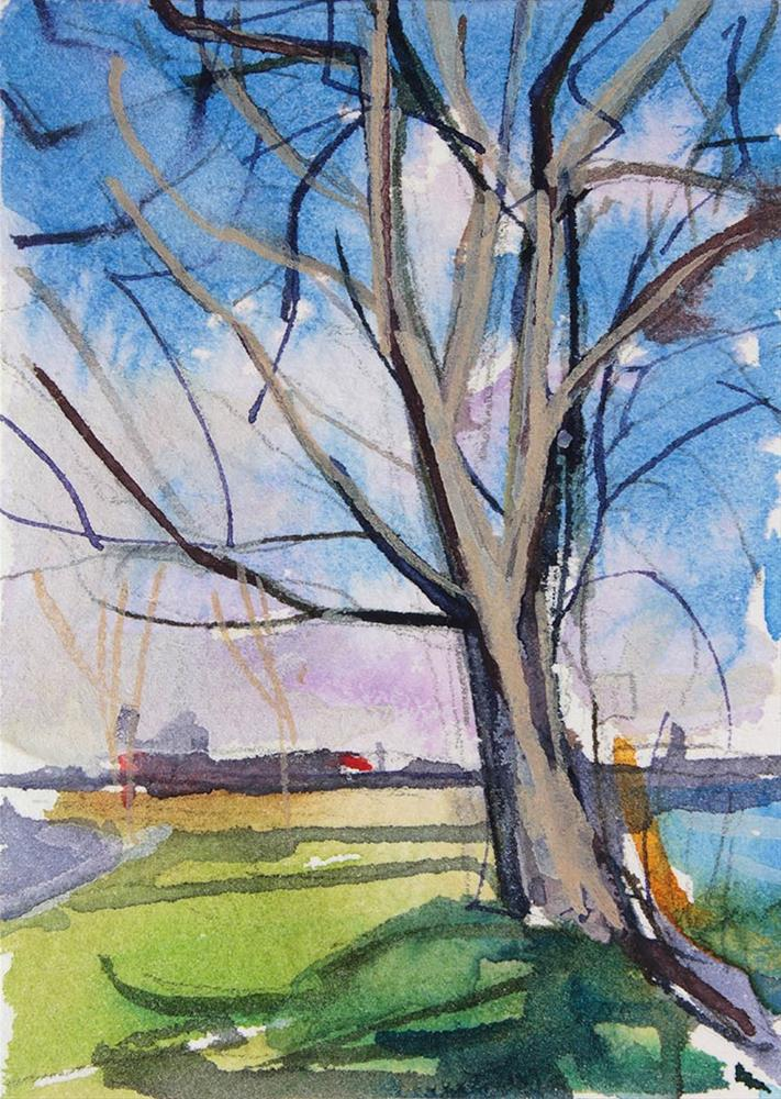 """Dormant Tree"" original fine art by Chris Breier"