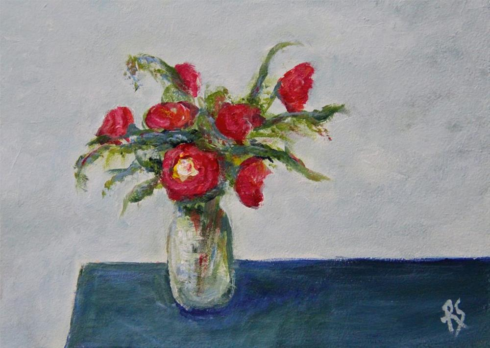 """Last Bouquet of Summer"" original fine art by Roberta Schmidt"